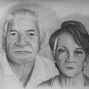 Retrato encargo de Abuelos (2019)