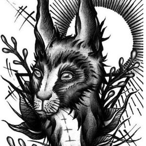 Conejo (Blackwork)