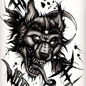 Wild (blackwork)