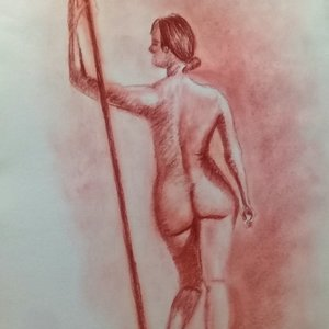 Human body art
