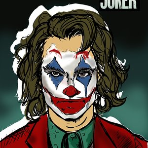Joker joaquin phoenix- fan art