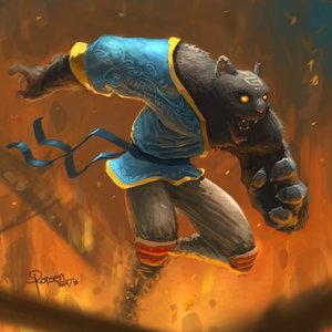 Samurai Panthère noir