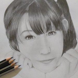 Retrato a lapiz. Yakko chan