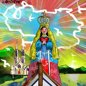 Virgen Del Valle patrona de Oriente