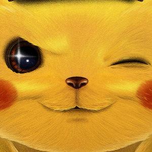 Detective Pikachu fanart poster
