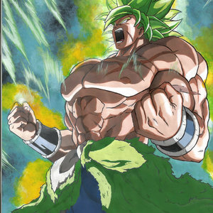 Broly super sayayin legendario full power