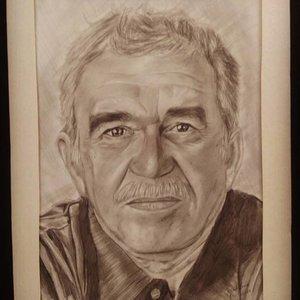 Retrato Gabriel García Márquez