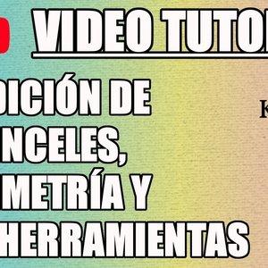 Tutorial 10 Krita en español - Edición de Pinceles, Simetría y más Herramientas