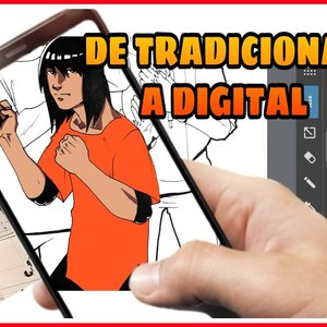 Cómo pasar tus dibujos a digital con tu smartphone y la App MediBang Paint