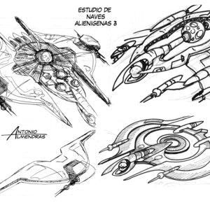 estudio nave alien 3