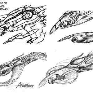 estudio nave alien 1