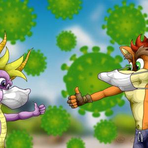 Spyro & Crash (Autocuidado)