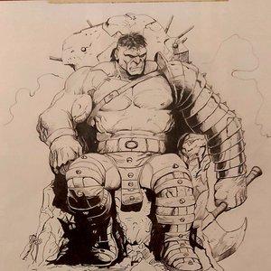 Hulk de gary frank