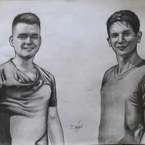 Retratos de amigos