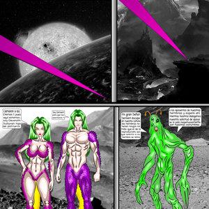 El Regreso de los Eternos  parte 4 páginas 1 y 2