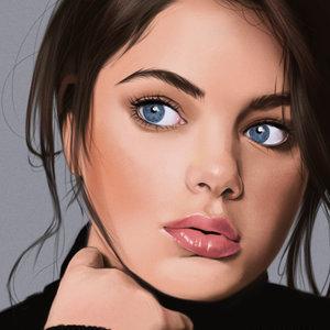Retrato de Odeya Rush