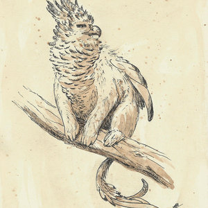 La arpía tití