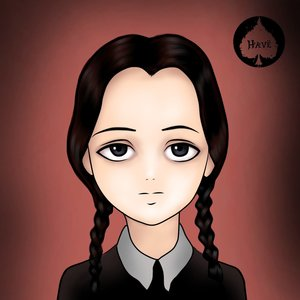 Merlina Addams - Manga Anime
