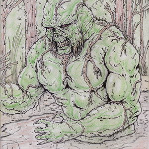 SWAMP THING - Fan Art
