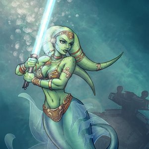 Twi'lek mermaid