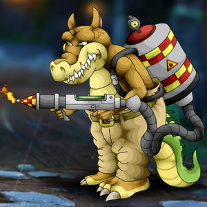 Dingodile (crash bandicoot)