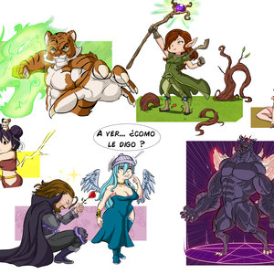Personajes cartoon