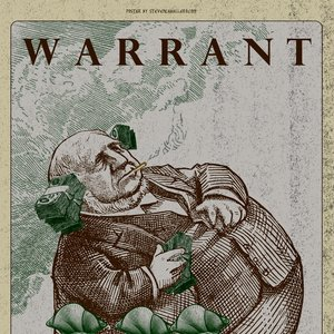 WARRANT - Single Poster
