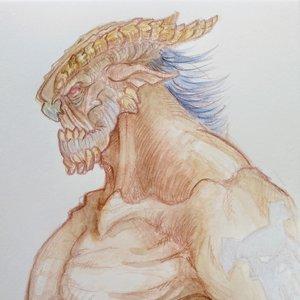Monstruo cuernos