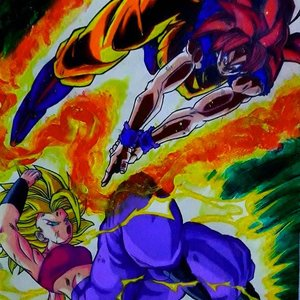 Son Goku vs Caulifla