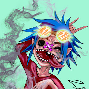 2D Six Fan Arts original digital