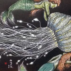 Sirenas y la medusa