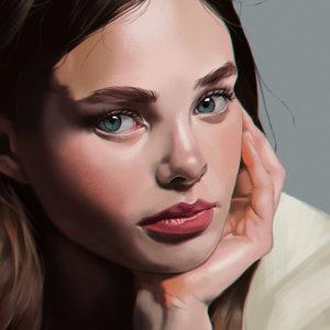 Retrato de Kristine Froseth