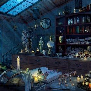 Juliet and Tordek's study