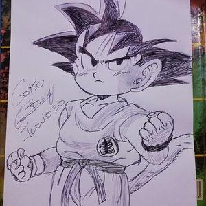 Goku pequeño