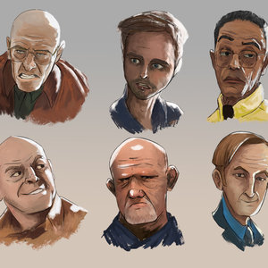Cartoon Breaking Bad