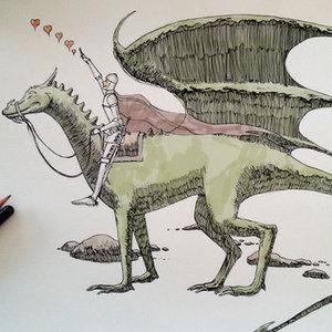 El dragón bueno