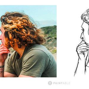 Bocetar Cabello Curso Paintable
