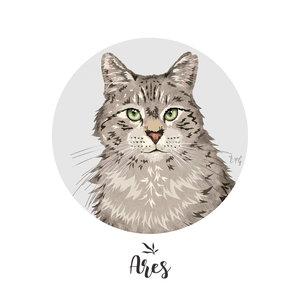 Retrato: Ares