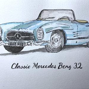Classic Mercedes Benz 32
