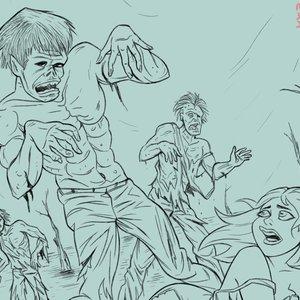 Zombies Lápiz