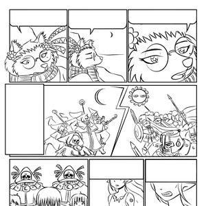 line art de una pagina de aureum milo