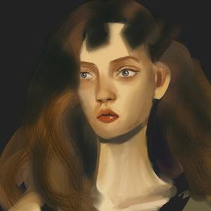 Retrato en las sombras