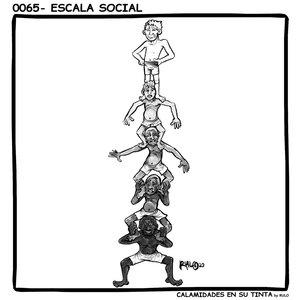 Viñeta 0065- Escala social