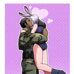 Gerd e Usagi| kiss