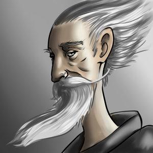 Retrato de Don Quijote.