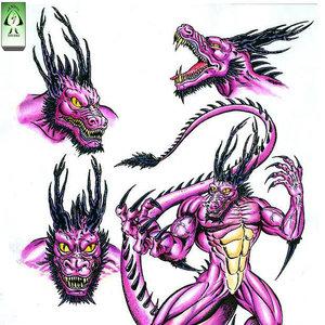 Dragon Negro ¨necrocronicas¨ DRACKOF