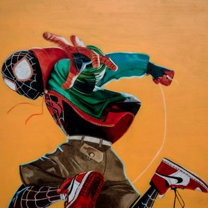 Miles Morales - Spiderman into the spiderverse