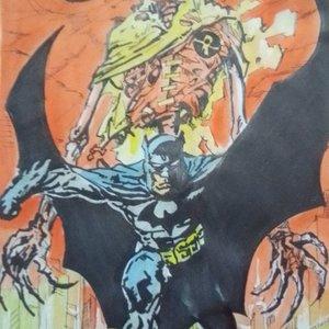 BATMAN Y MUERTE DE ROBIN