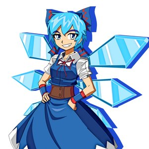 Cirno proceso (Touhou Proyect)