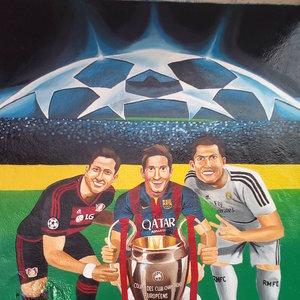 Mural de la champions league